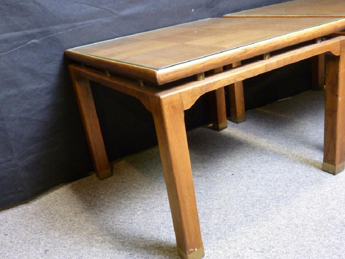 Parquet Top End Tables - 3