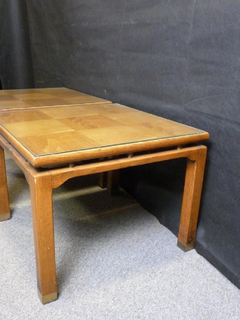 Parquet Top End Tables - 4