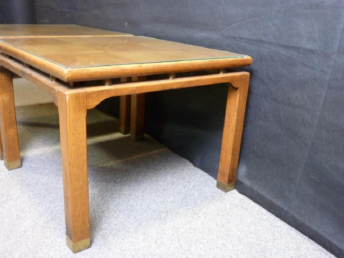 Parquet Top End Tables - 5
