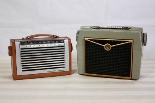 RCA Victor Transistor Radios (2)