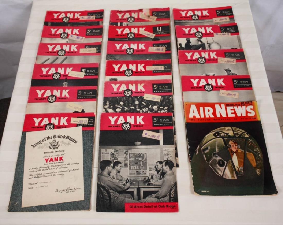 Yank The Army 1945 Weekly & Air News 1943