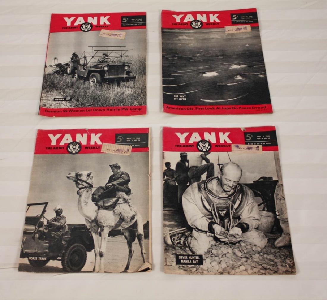 Yank The Army 1945 Weekly & Air News 1943 - 2