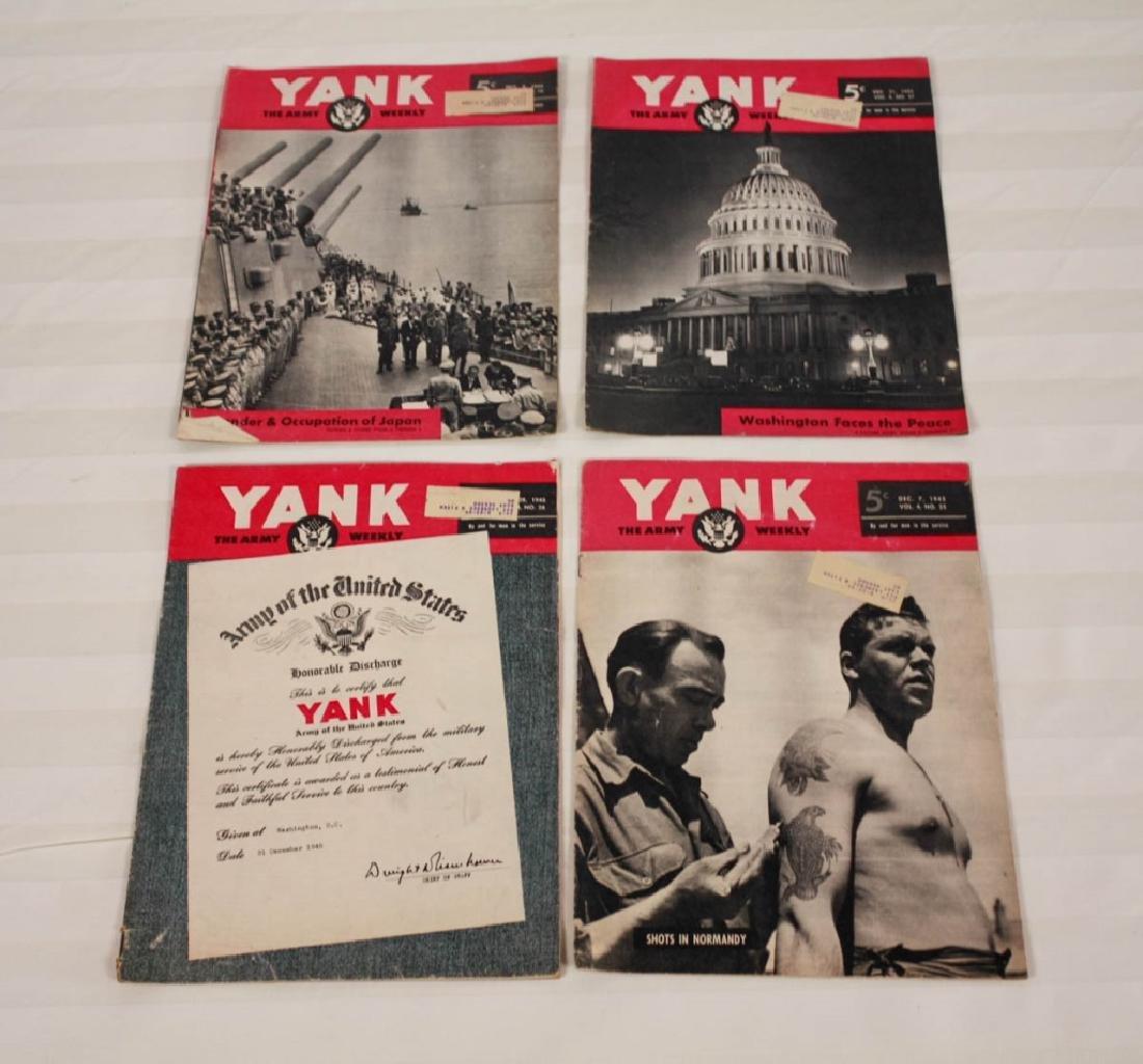 Yank The Army 1945 Weekly & Air News 1943 - 4