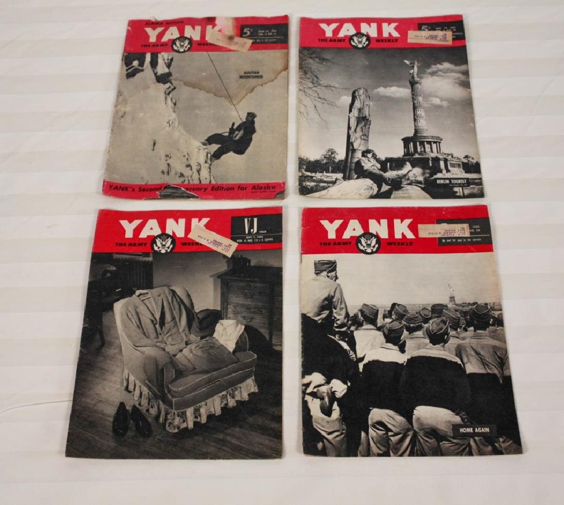 Yank The Army 1945 Weekly & Air News 1943 - 5