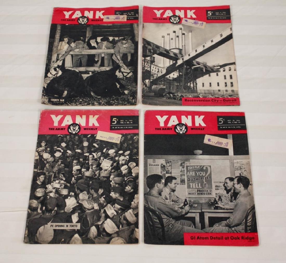 Yank The Army 1945 Weekly & Air News 1943 - 6