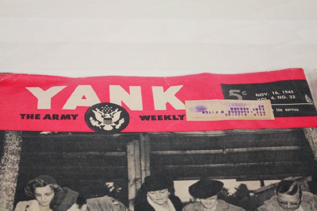 Yank The Army 1945 Weekly & Air News 1943 - 7