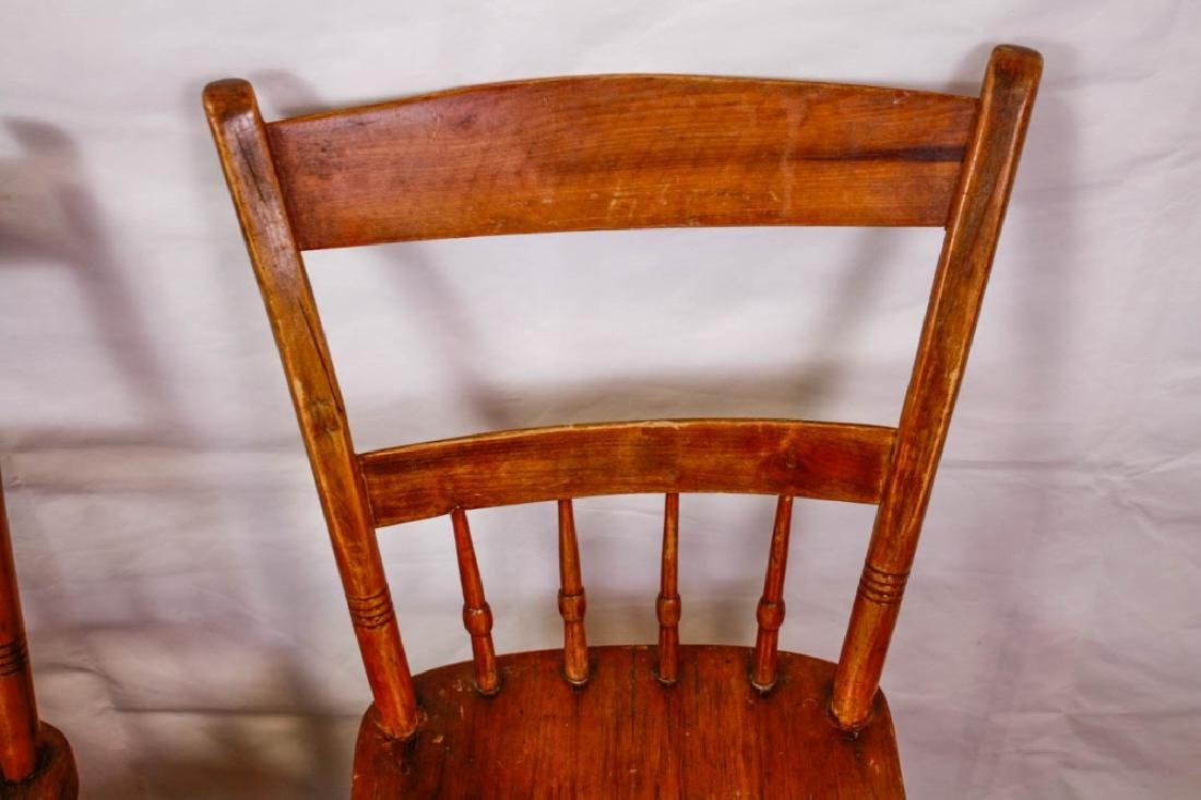 Colonial Handmade Side Chairs (5) - 2