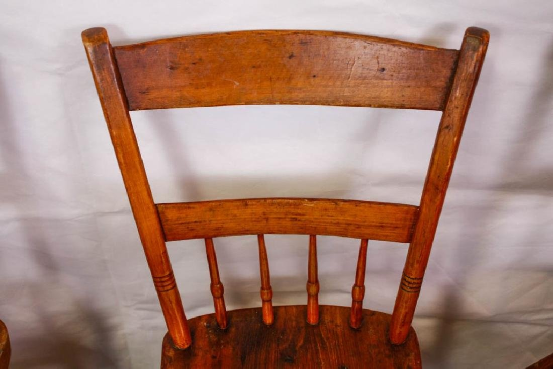 Colonial Handmade Side Chairs (5) - 3