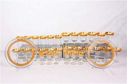 Cristal Taille Saint-Cloud Glassware Set