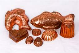 Vintage Copper Molds 8