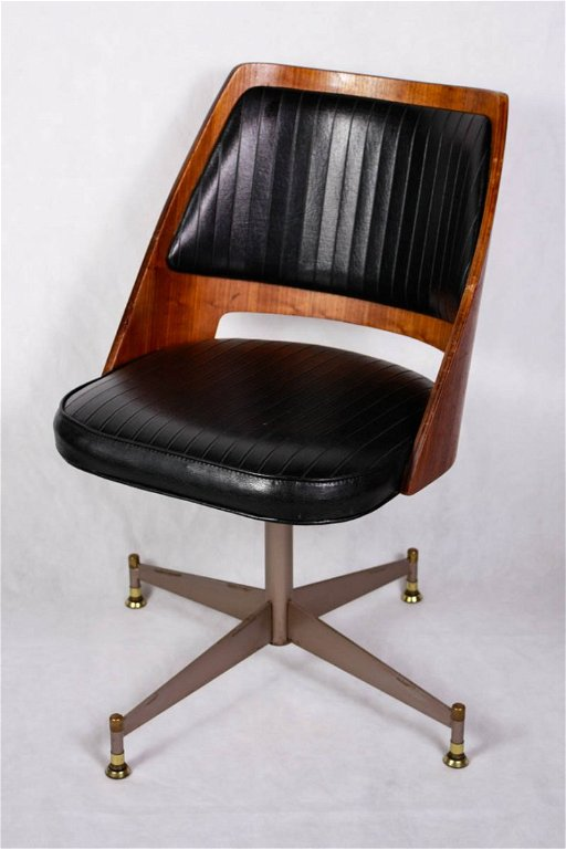 Remarkable Mid Century Modern Brody Swivel Chair Gmtry Best Dining Table And Chair Ideas Images Gmtryco