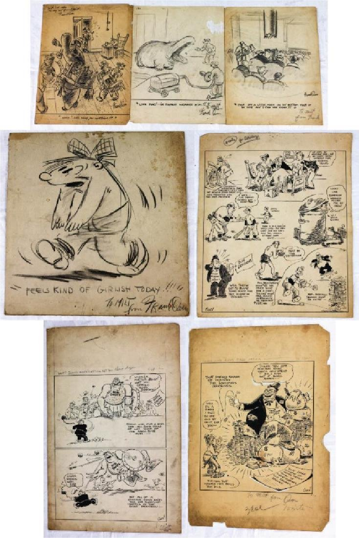 Collection of Cartoons by Frank Owen (7)