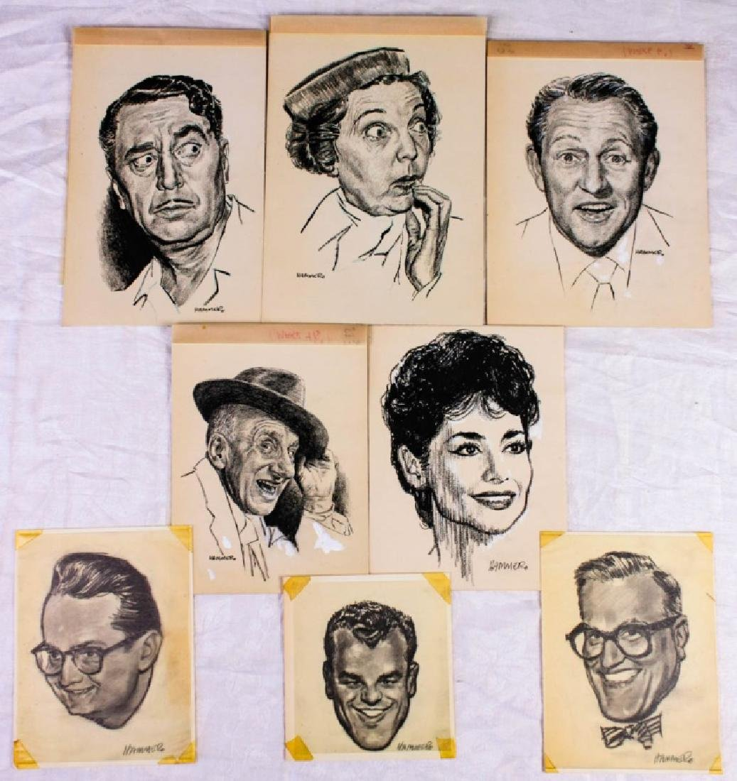 Original Portraits by Milt Hammer (8)