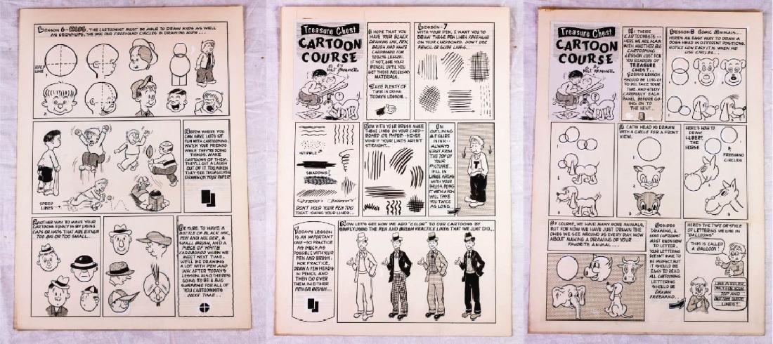 Treasure Chest Cartoon Courses by Milt Hammer (3)