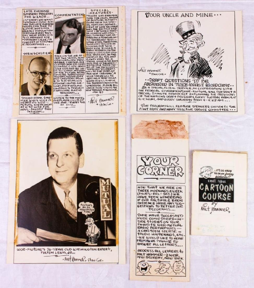 WOR Radio Facsimile Images by Milt Hammer (5)