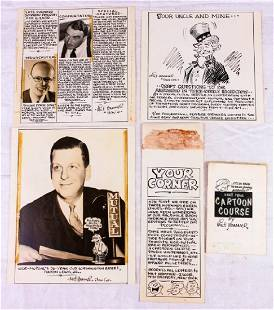WOR Radio Facsimile Images by Milt Hammer 5