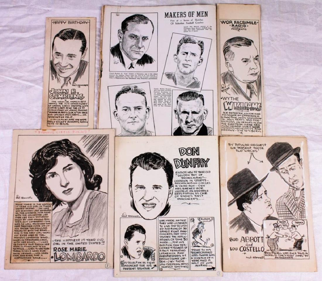 Original Portraits by Milt Hammer (6)