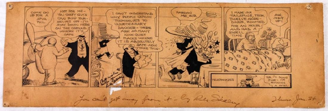 You Can't Get Away From It signed by Rube Goldberg