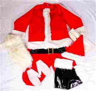 Vintage Santas Best Womens Santa Suit