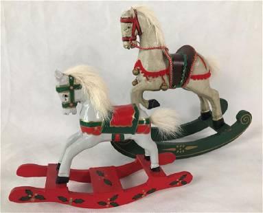 Rocking Horses Holiday Decor 2