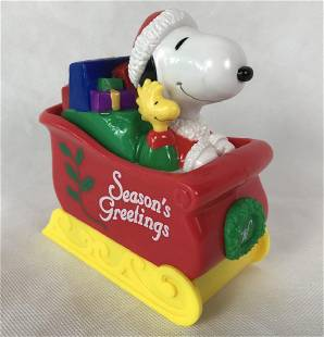 Snoopy Bank Whitmans Candy Advertising