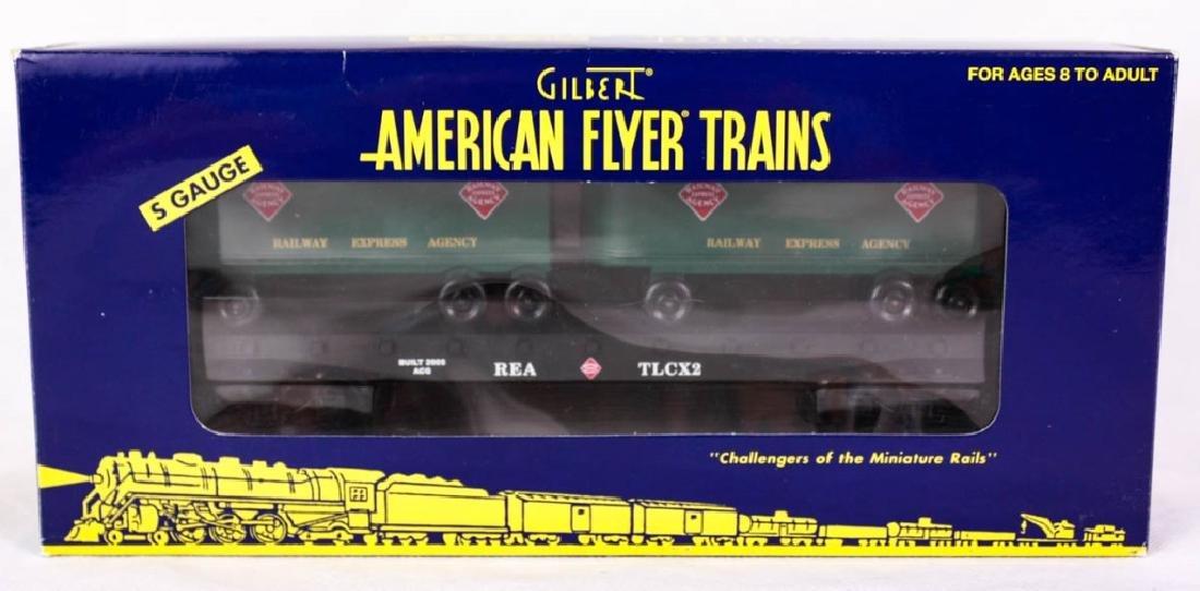 Gilbert A/F Railway Express Agency Flatcar 48539