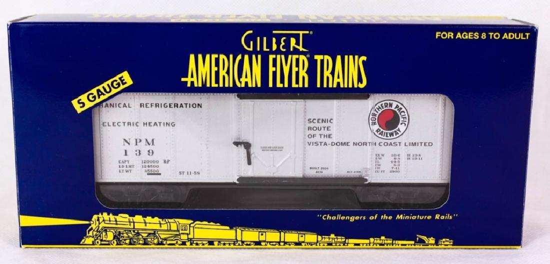 Gilbert Am. Flyer Northern Pacific Reefer 48809