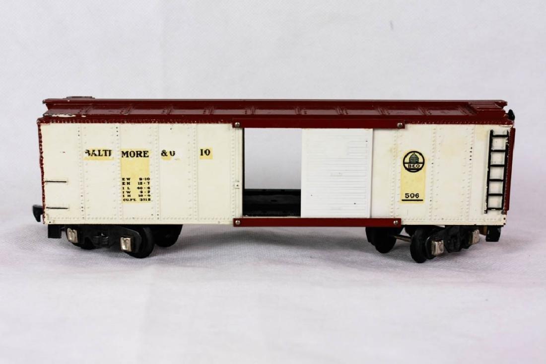 Am. Flyer B&O 506 Box Car O-Gauge