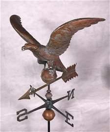 "Eagle Weathervane, 24"" 1940's/50's"