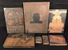 Copper Printing Blocks (6)