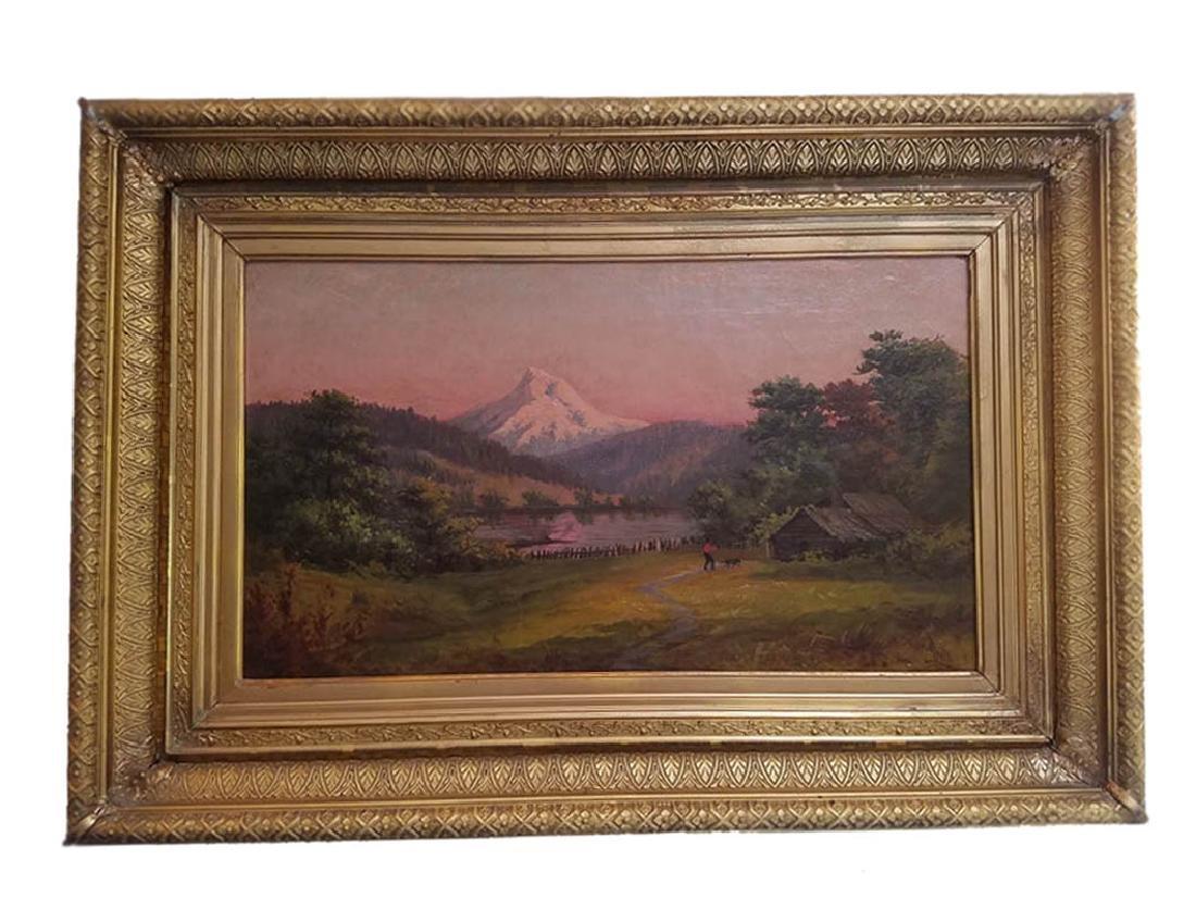 Frank Lucien Heath (American 1857-1921) Oil