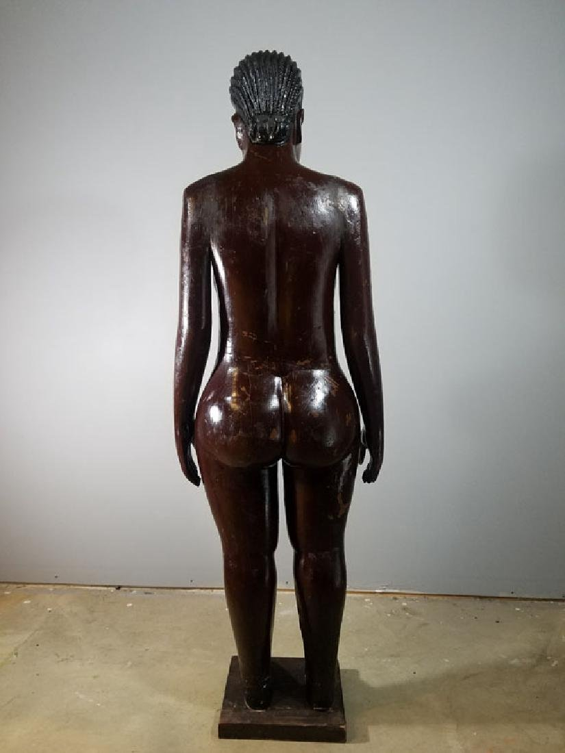 Monumental Nude Colonial Ivory Coast Sculpture - 6