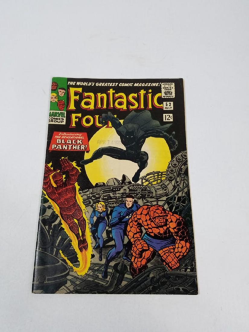 Marvel Fantastic Four #52