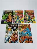 Marvel Fantastic Four Lot #112-115