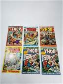 MARVEL Thor Comics Grouping 193197