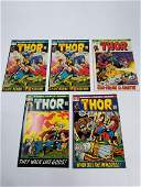 MARVEL Thor Comics Grouping