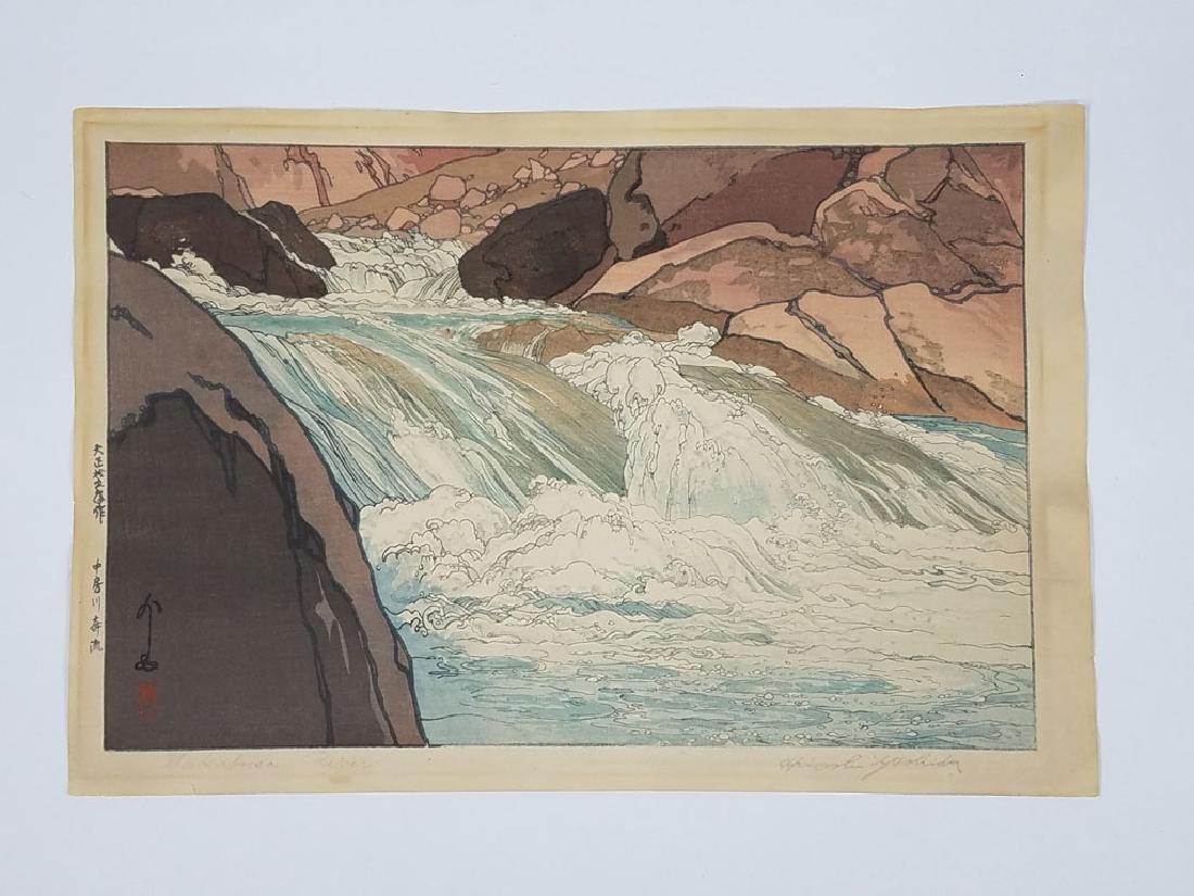 Hiroshi Yoshida (1876-1950) Nakabusa River