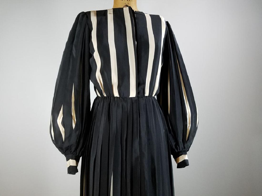 Vintage Bill Blass Silk Chiffon Dress