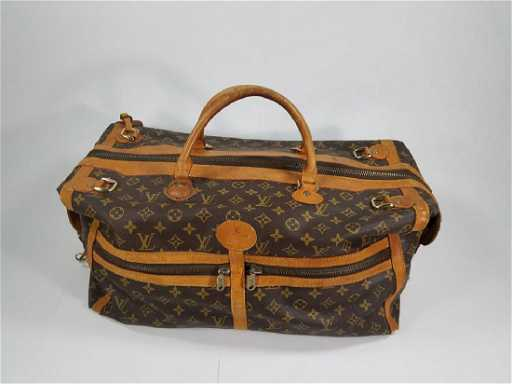 587888ad8085 Vintage Louis Vuitton Designer Duffel Bag. placeholder