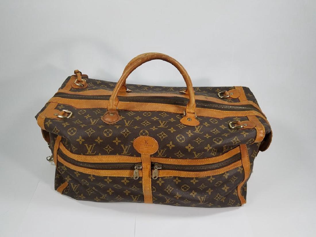 Vintage Louis Vuitton Designer Duffel Bag