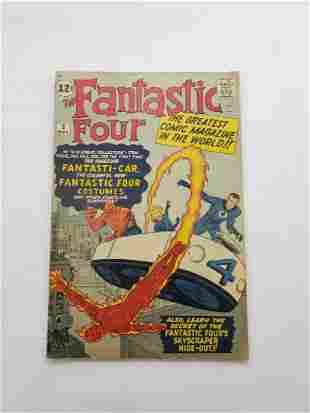 MARVEL Fantastic Four # 3 Comic Book