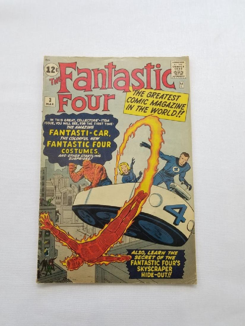 MARVEL Fantastic Four # 3 Comic Book