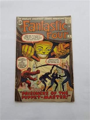 MARVEL Fantastic Four # 8 Comic Book