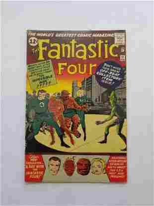 MARVEL Fantastic Four # 11 Comic Book