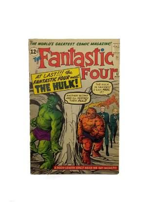 MARVEL Fantastic Four # 12 Comic Book