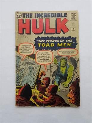MARVEL The Incredible Hulk #2 Comic Book