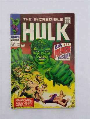 MARVEL The Incredible Hulk #102 Comic Book