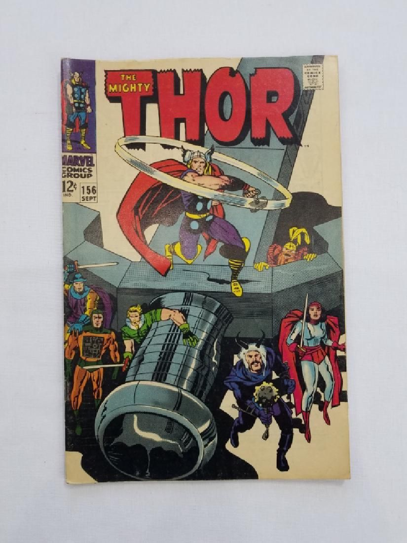 MARVEL The Mighty THOR #156 Comic Book
