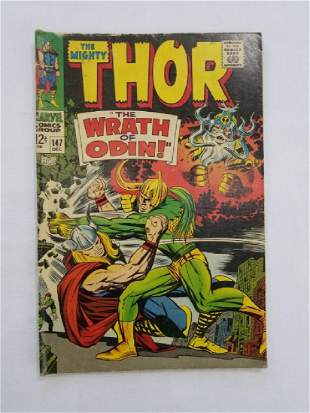 MARVEL The Mighty THOR #147 Comic Book