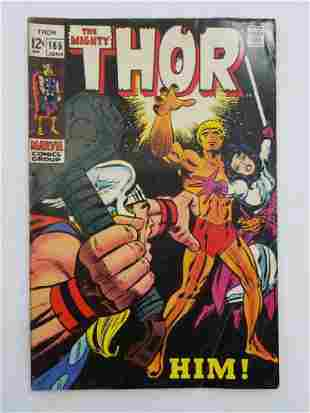 MARVEL The Mighty THOR #165 Comic Book